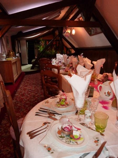 Restaurant l 39 auberge du val au cesne yvetot normandie for Decoration yvetot